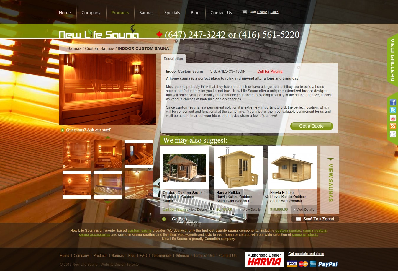 New Life Sauna Saunas