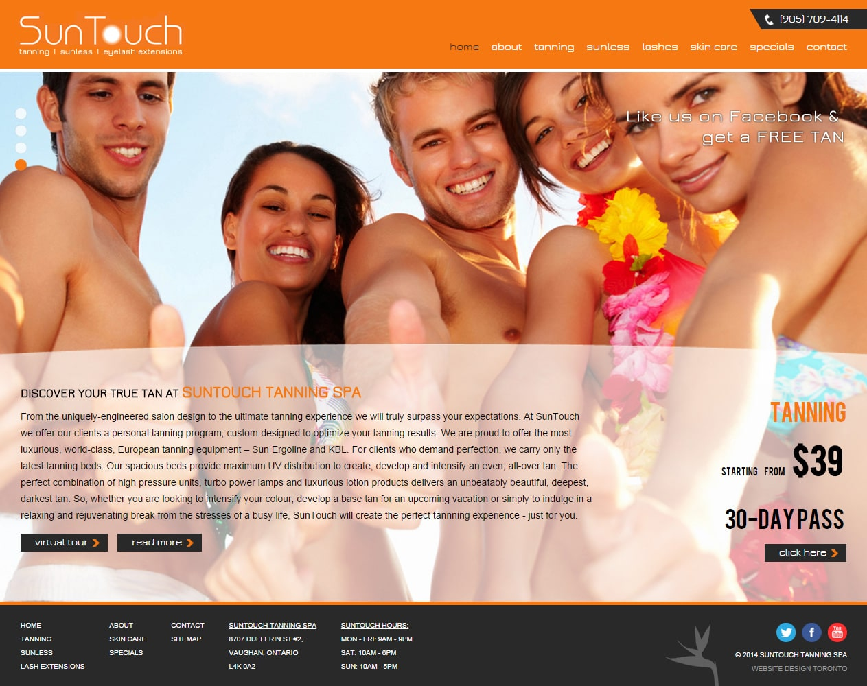 SunTouch Tanning Spa