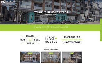 website design for real estate agent
